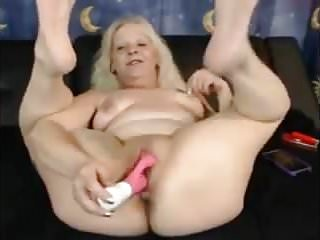 GRANDMA SHOWS US HER PUSSY