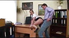 boss fucks his secretary :D