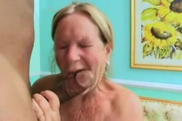 Grannie and boy sex