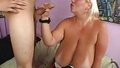 Sexy Blonde BBW