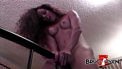 BRUCE SEVEN - Felicia Plays With Both Of Her Holes