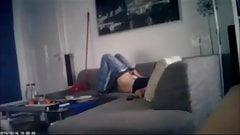 hidden cam couch