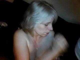 MILF Sucking Off BBC Then Her Hubby