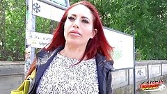 GERMAN SCOUT - ROTHAARIGE MILF STACEY ANAL SEX BEI CASTING