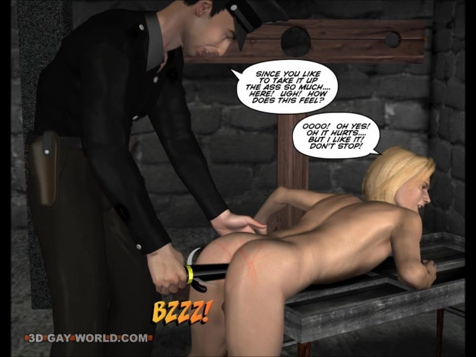 Gay Bdsm Nightmare 3D Gay Cartoons Anime Comics Bondage
