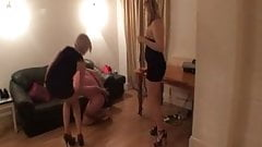 2 sadistic girls whipping frenzy
