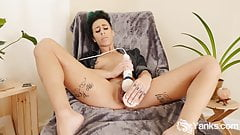 Yanks Andre Shakti's Big Dick Cum