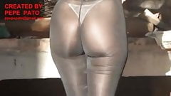 transparent tights