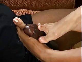 Cali Alexis brown sugar footjob