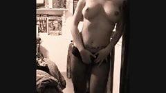 Big Tits Teen Strips Off Lingerie
