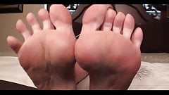 not son licks foot JOI