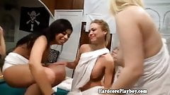 Orgy loving babes toga party fuckfest