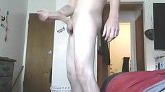 Stroking Large Cock