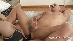 Strapon Fuck With Hot Redhead ( oYo)