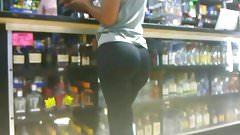 Candid liquor store ass part 2