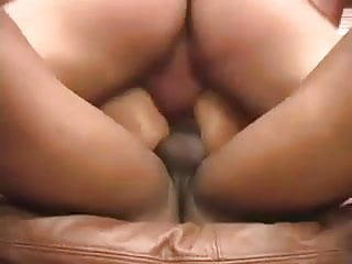 nice blond MILF rough double anal