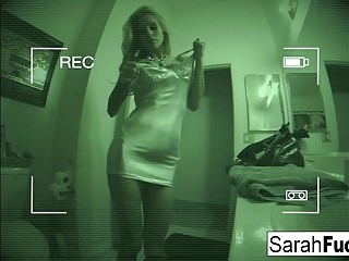 Busty pornstar Sarah fucks & gets a load on her tits