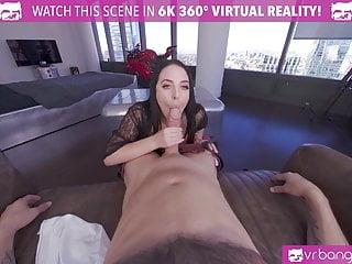 VRBangers Angela White Takes a Big Dick between Her Big