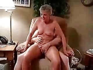 My old bitch riding my cock