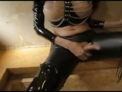 escort mistress humilate and fuck her  client