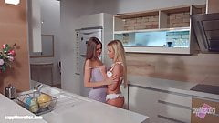 My kitchen love by Sapphic Erotica - Kiara Lord and Suzie C
