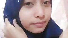 Tudung Girl - touching herself 08