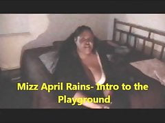 April Rains-Welcome to the playground!
