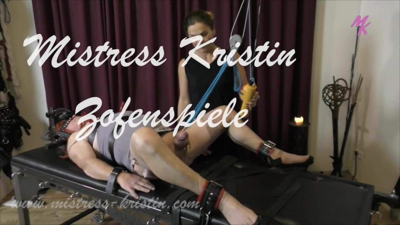 Crossdresser Slave Training Dominatrice Mistress Kristin-5804