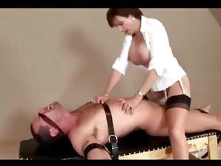 Sexy Milf and her Slave