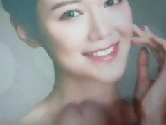 Hong Kong celebrity Elva Ni Cum Tribute