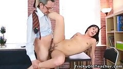 Sonia wants to feel her teachers cum inside her mouth
