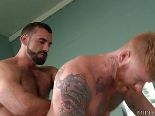 Homosexual studs sucking and drilling