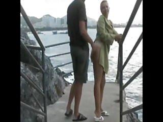 Promenade en bord de mer