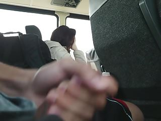 Flash on Bus 01 Part 6 (Cum)