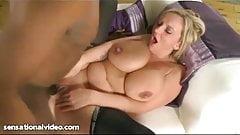 Big Tit British Wife Fucks Big Black Cock