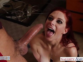 Preview 6 of Redhead cutie in glasses Penny Pax fuck in the office