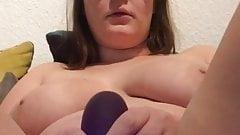 Deutsche Euterkuh Josephine mit Vibrator an der Klit!'s Thumb