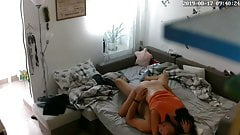 Ip cam couple in bed