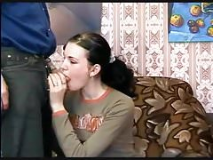 Young Girl Gets A Taste Of Mature Spunk