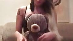Teddy bear. Who is this?