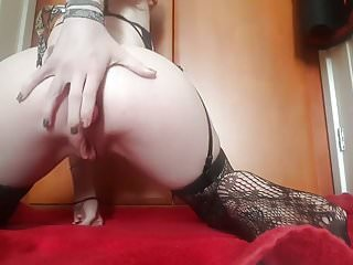 Anal play and masturbation sexy camgirl