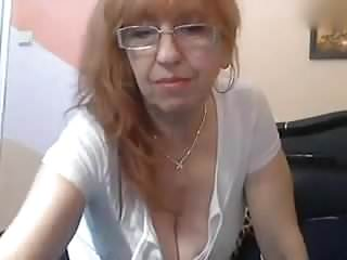 Maturewebcam whore and her wild solo show