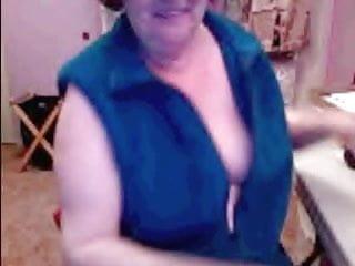 69 Year Old Granny Masturbates