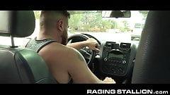 RagingStallion Uber Ride Gone Wrong