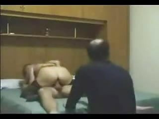Italian wife with her bull and her cuckold