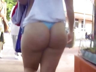 phat booty public thong