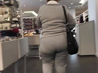 Mexican Milf with a huge booty in Sweats Part 2