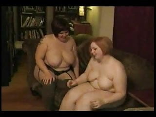 Horny Fat Chubby Lesbians sucking each other's Pussy