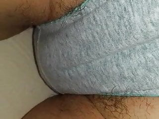 Milf in Panties with Transparent Hair...