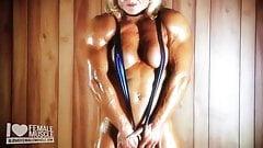 Huge Female Bodybuilder Brigita Brezovac Hot Female Muscle